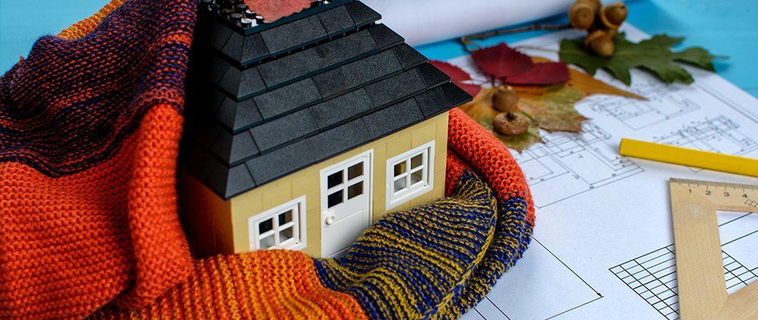 isolation d'une maison