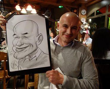 caricaturiste animation