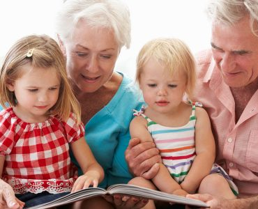 importance des grands parents aux petits enfants
