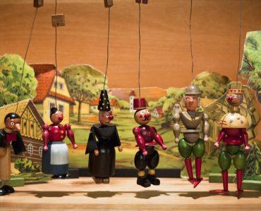 spectacle de marionnette marotte
